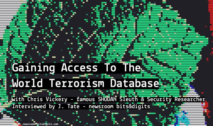 Gaining Access To The World Terrorism Database